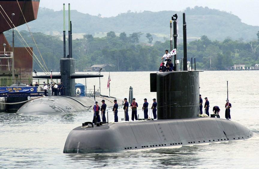 самая крупная военная подводную лодку